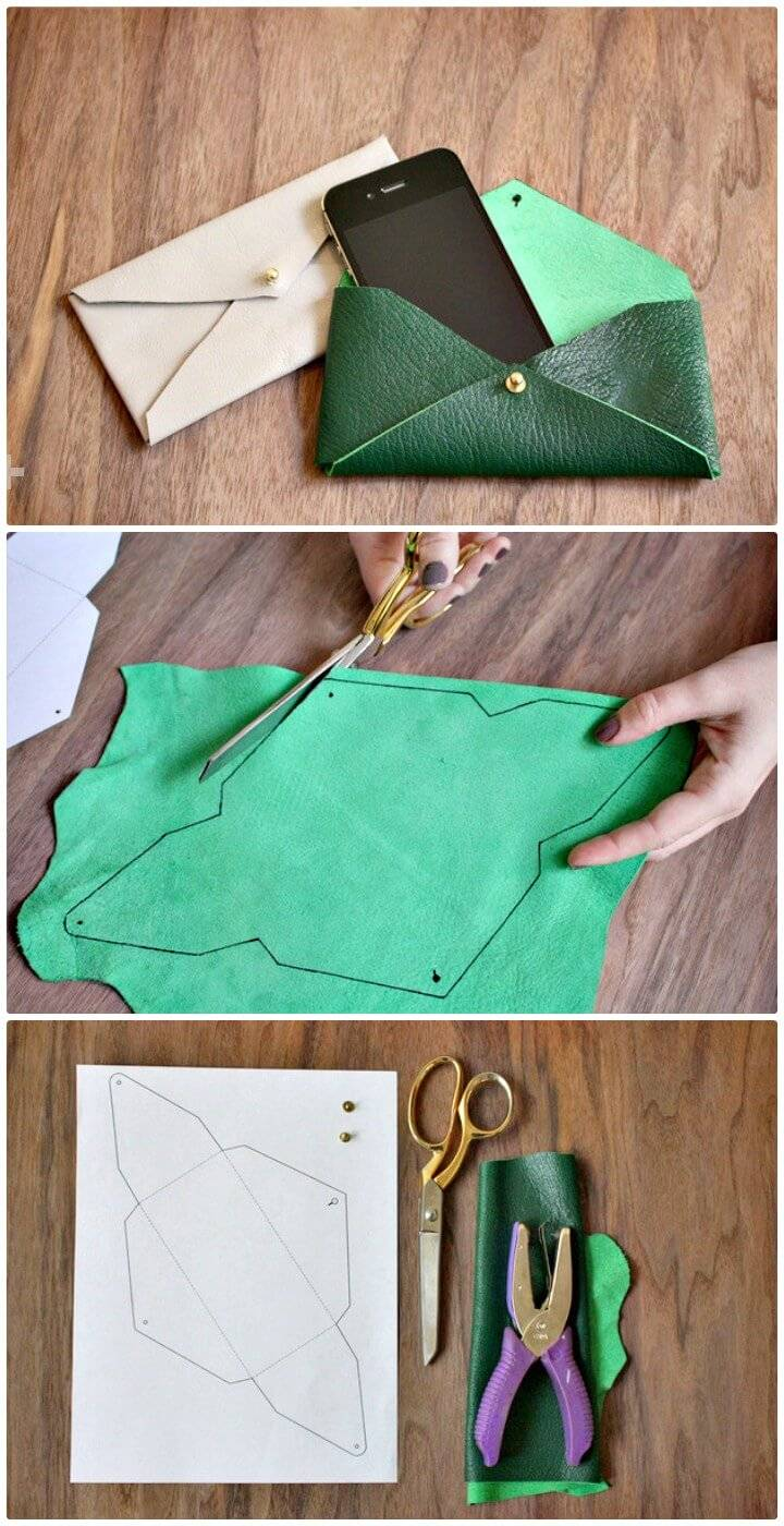 How To Make La Pouchette Clutch - DIY