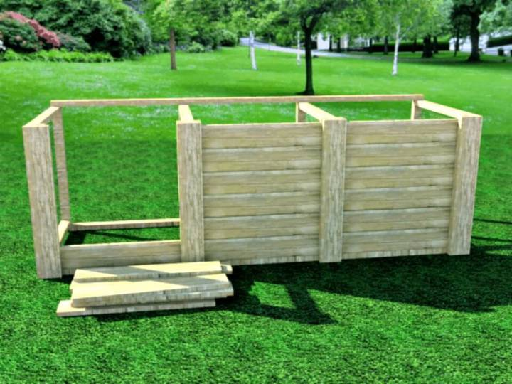 How To Make a Compost Bin for Your Garden - DIY