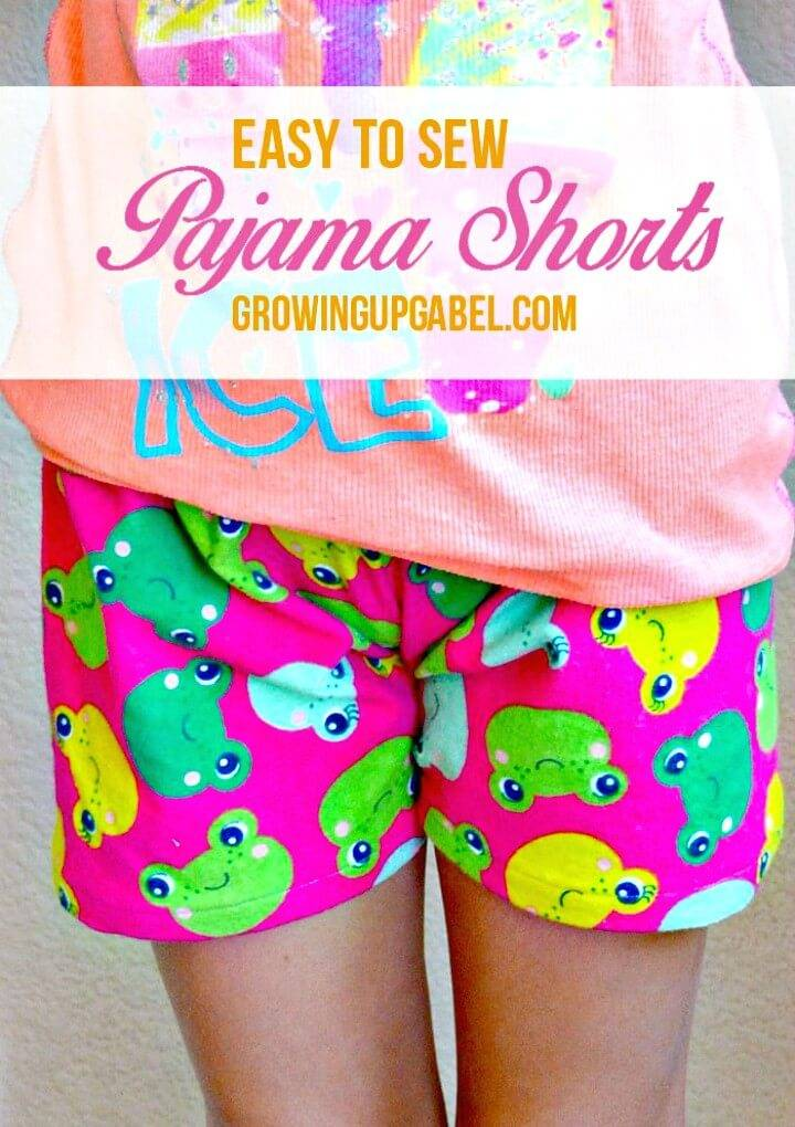 How To Sew Pajama Shorts For Summer