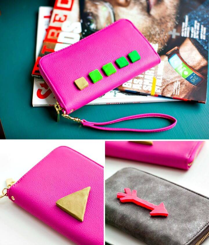 How to Add 3D Flair to Your Clutch Bags - DIY Gifts