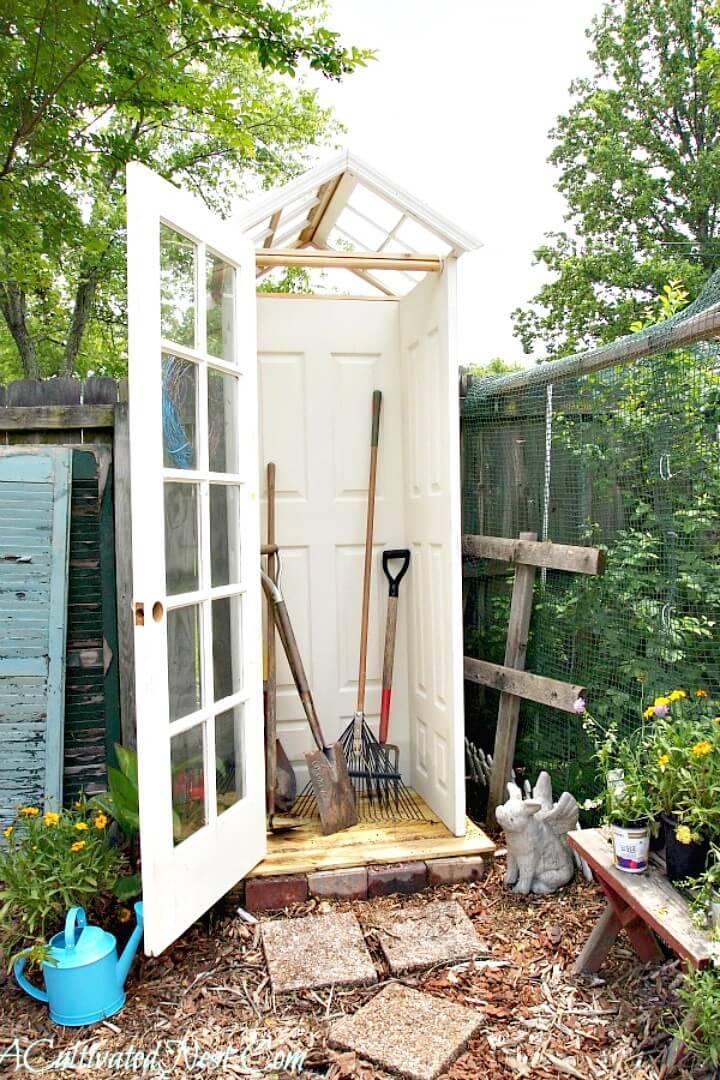 How to Build A Backyard Storage - DIY