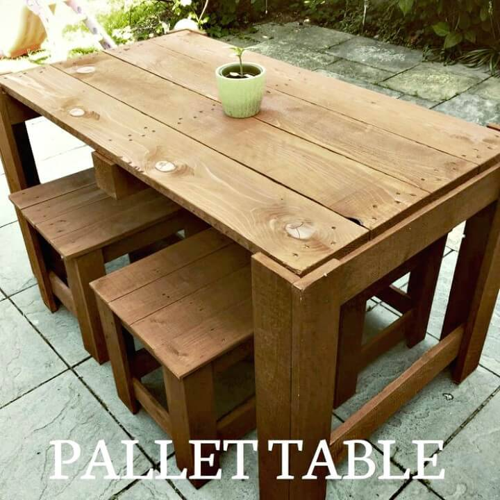 How to Build Pallet Garden Furniture - DIY