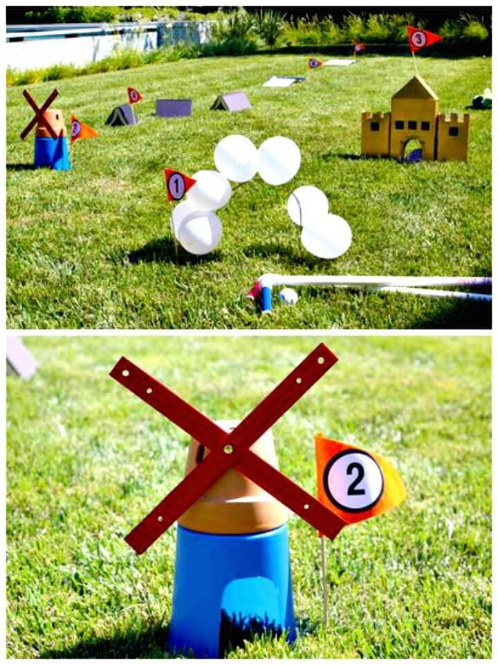 How to Build a Homemade Mini Golf Course - DIY