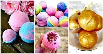 DIY Bath Bombs – 101 Easy DIY Bath Bombs Recipes