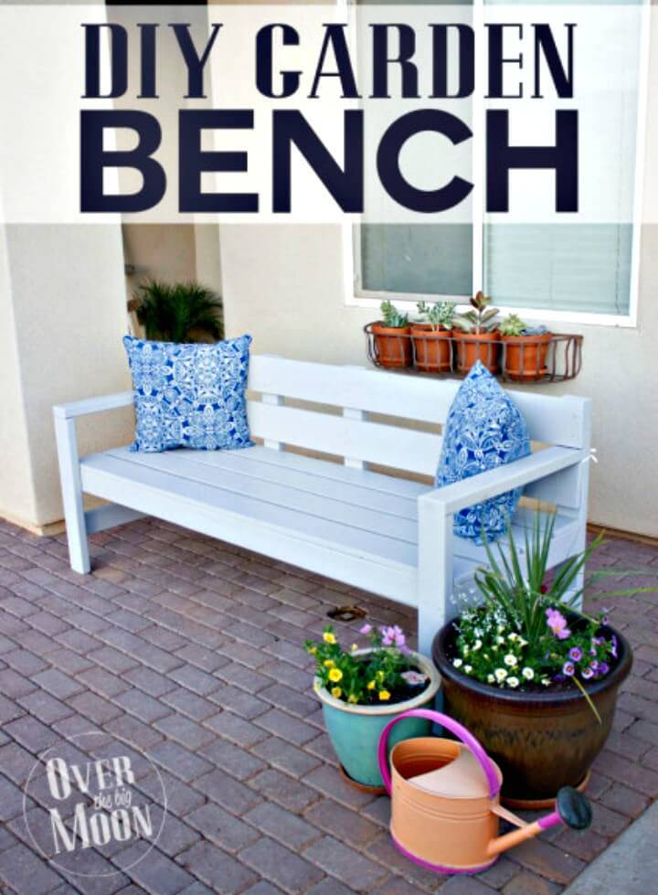 Build Your Own Garden Bench - DIY Garden Furniture Ideas