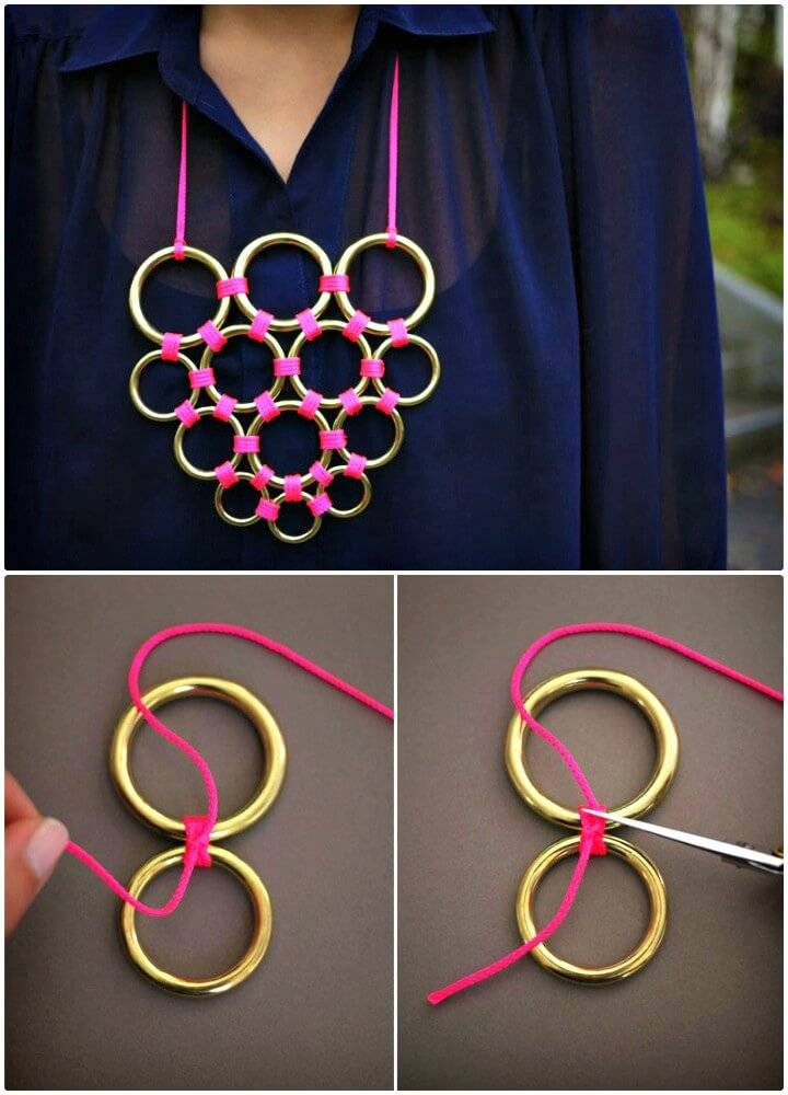 How to Make Gretchen Jones Necklace - DIY