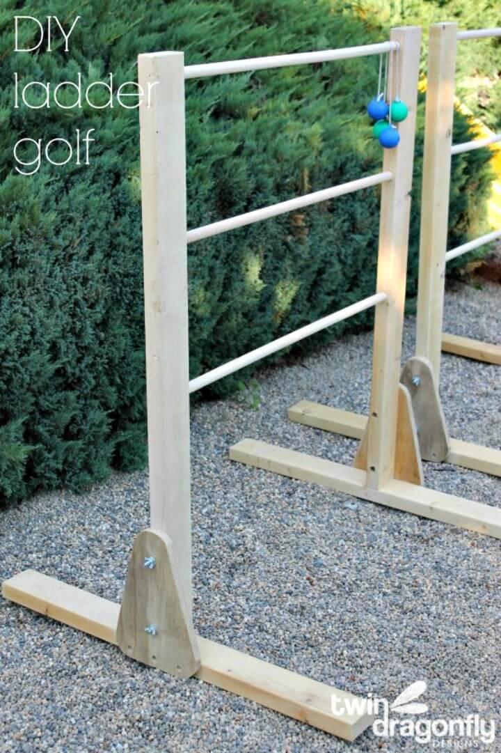 How to Make Ladder Golf Game - DIY
