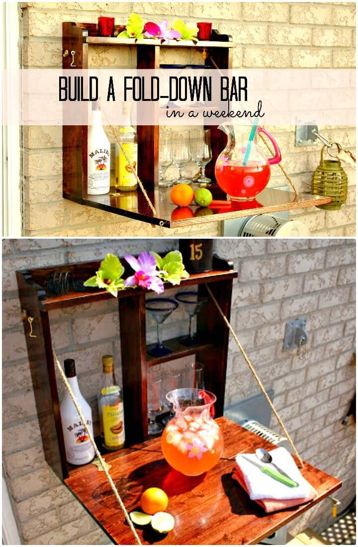 Make Your Own Backyard Bar - DIY
