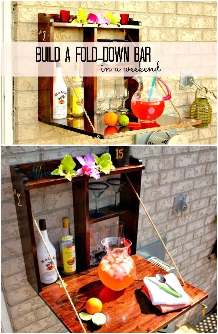 Make Your Own Backyard Bar - DIY