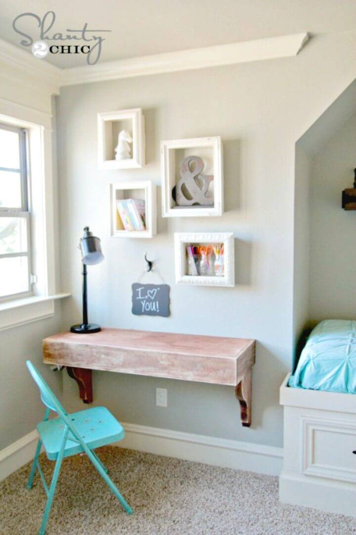 Make Your Own Frame Shelves - DIY