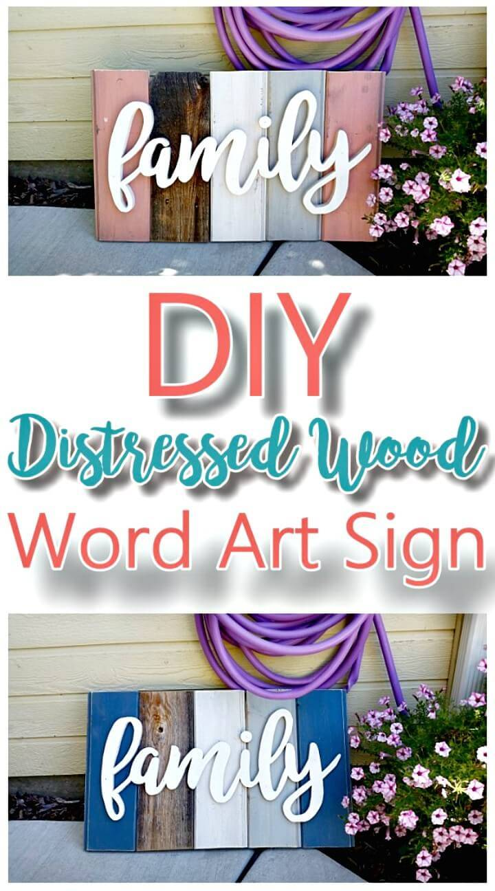 Make Your Own Home Decor Wood Sign - DIY