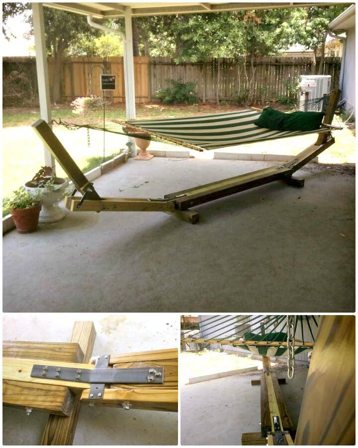 How to Make Your Own Indoor-outdoor Hammock Stand