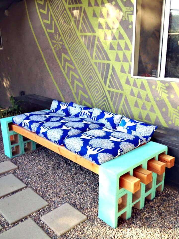 Make Your Own Outdoor Seating - DIY Garden Furniture Ideas
