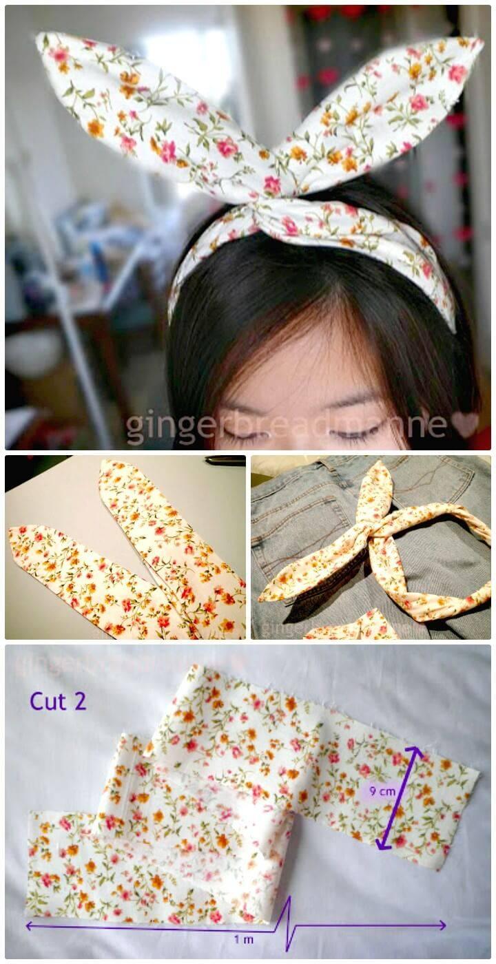 DIY Usamimi Headband Tutorial