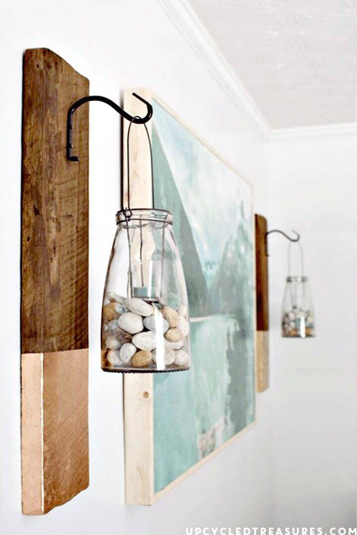 Modern DIY Rustic Wall Hanging Tutorial