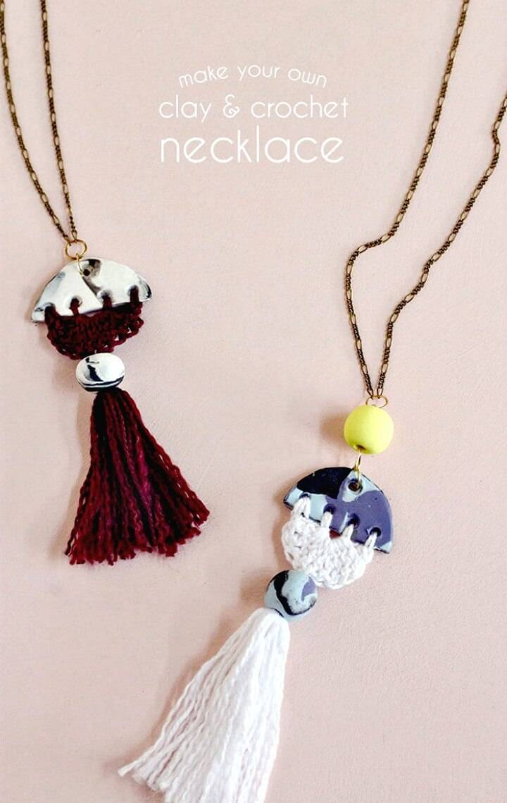 Modern to Create Tassel Necklace - DIY