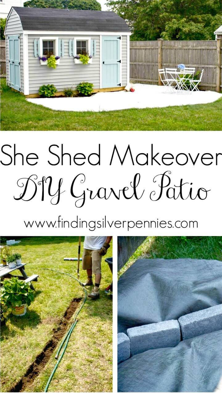 Gorgeous DIY Gravel Patio Tutorial