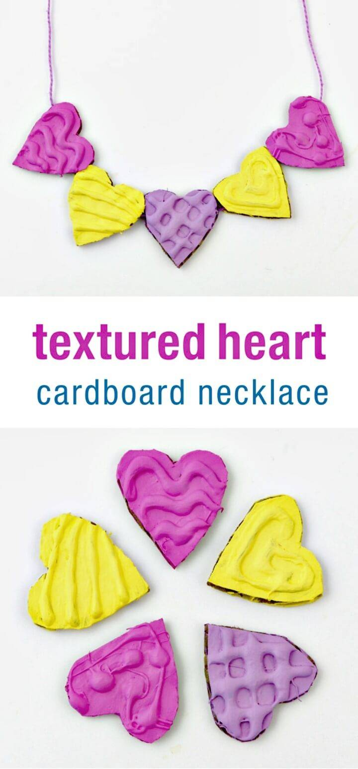 How to DIY Heart Necklace