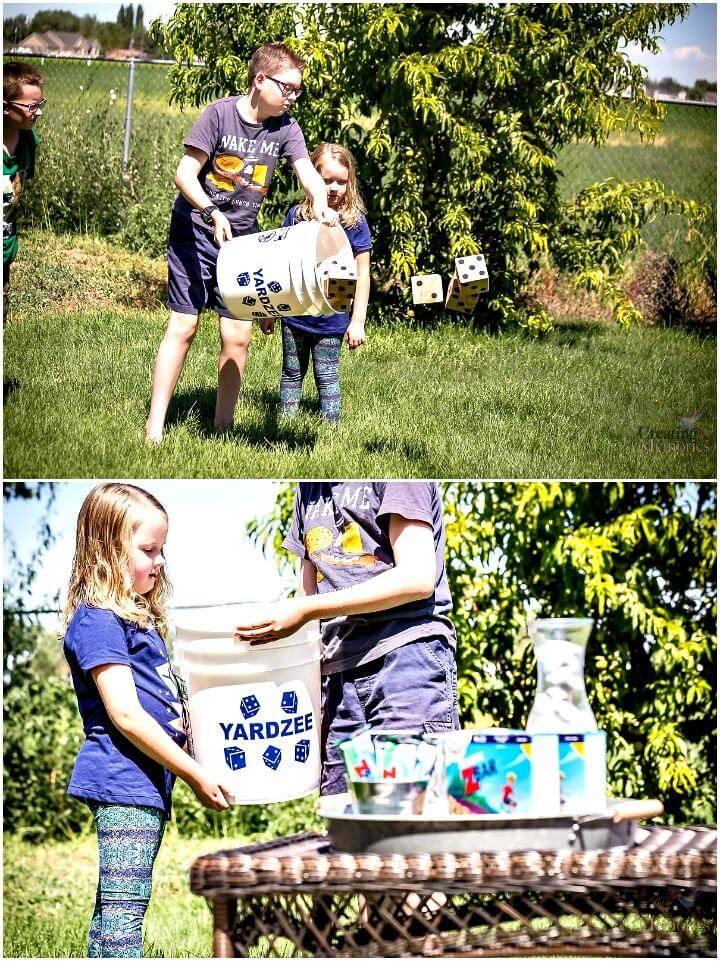 Simple DIY Outdoor Games For Kids