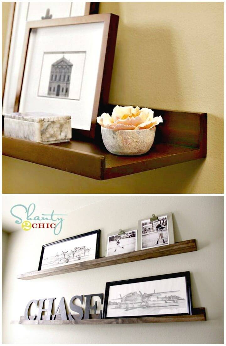 Simple DIY Wooden Shelves for $20