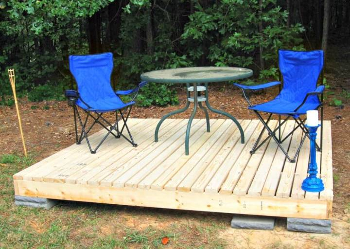 Simple to Make Floating Deck - DIY