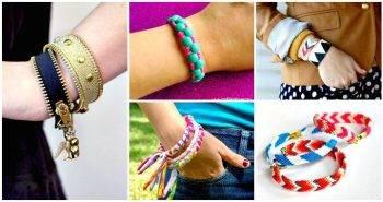 143 Easy DIY Bracelets You'll Fall in Love With These - DIY Bracelet Ideas - DIY Fashion - DIY Projects - DIY Crafts - DIY Ideas