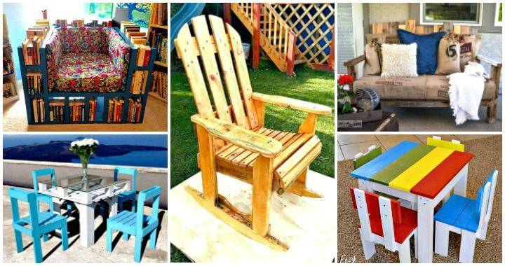17 Pallet Chair Plans To Diy For Your Home At No Cost Diy Crafts