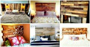 40 Pallet Headboard Ideas to DIY for Your Bed - Pallet Ideas - Pallet Furniture Ideas - Pallet Projects - DIY Projects - DIY Crafts - DIY Ideas
