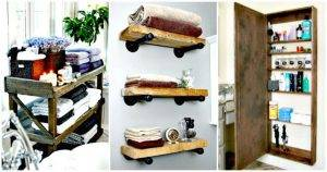 50 Unique DIY Bathroom Storage Ideas You Must Try