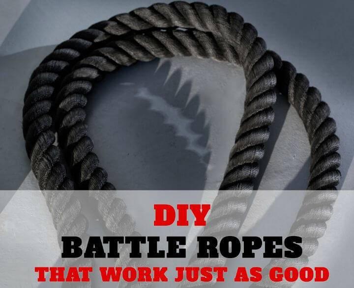 Adorable DIY Battle Ropes