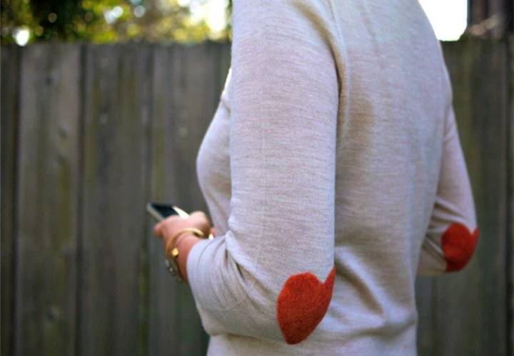 Adorable DIY Elbow Patch