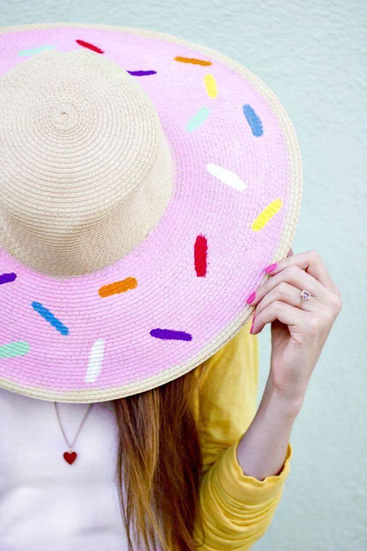 Awesome DIY Donuts Floppy Hat