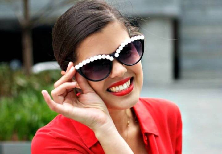 How to make Pearl Sunglasses - Awesome DIY