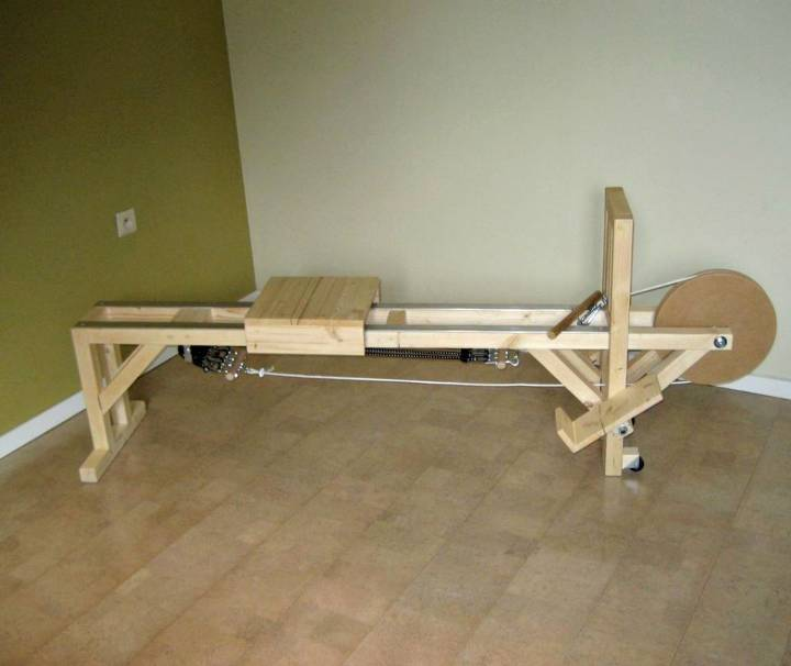 Make a Rowing Machine - DIY Gym Equipment Projects