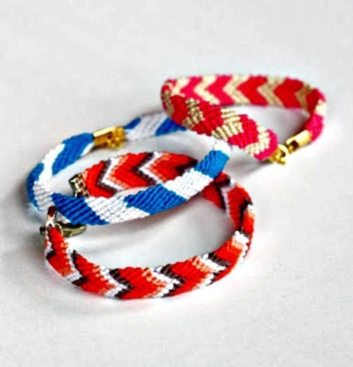 Beautiful DIY Friendship Bracelets