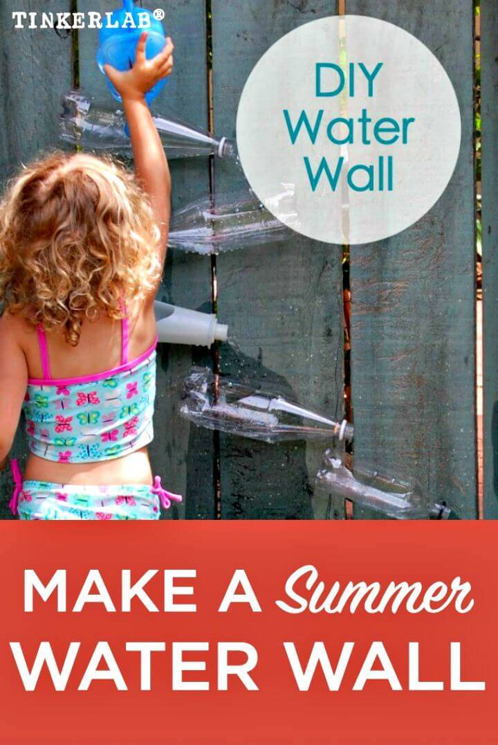 DIY Water Wall - Backyard Water Feature
