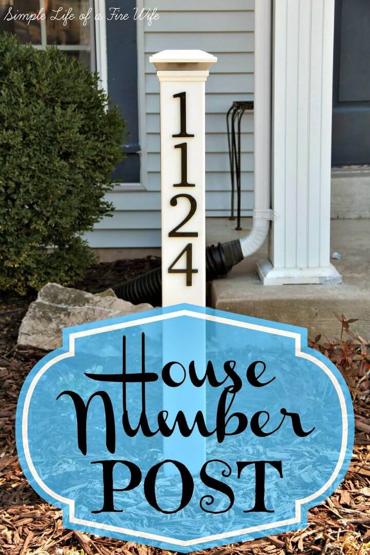 Diy House Numbers 30 Unique Ideas To Display Your House
