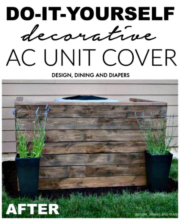 Build Your Own Ac Unit Cover - DIY