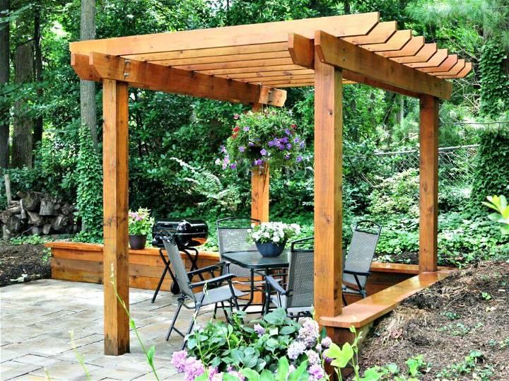 DIY Pergola for Your Garden