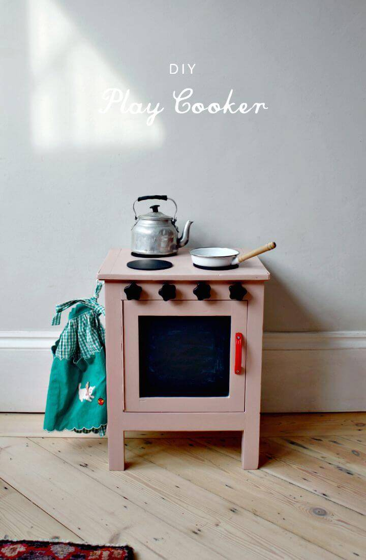 Build Your Own Play Cooker
