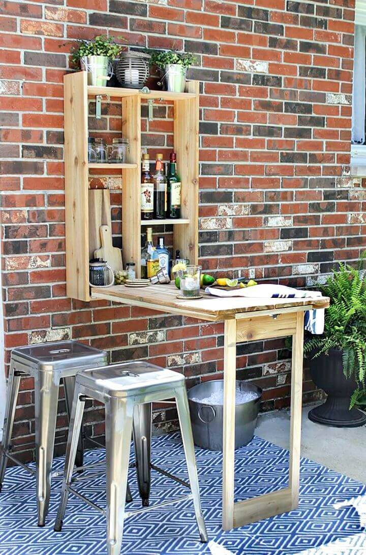 Build Your Own a Murphy Bar - DIY Wooden Projects