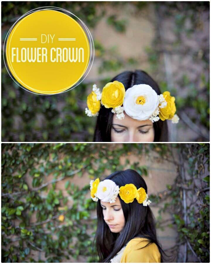 How to Create Flower Crown - DIY