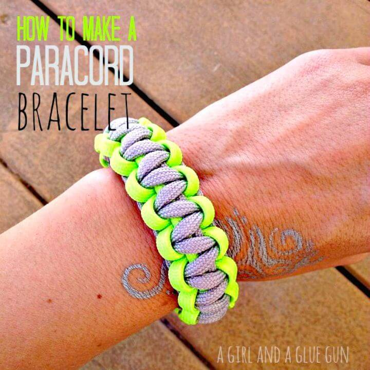 Create Your Own Paracord Bracelets - DIY