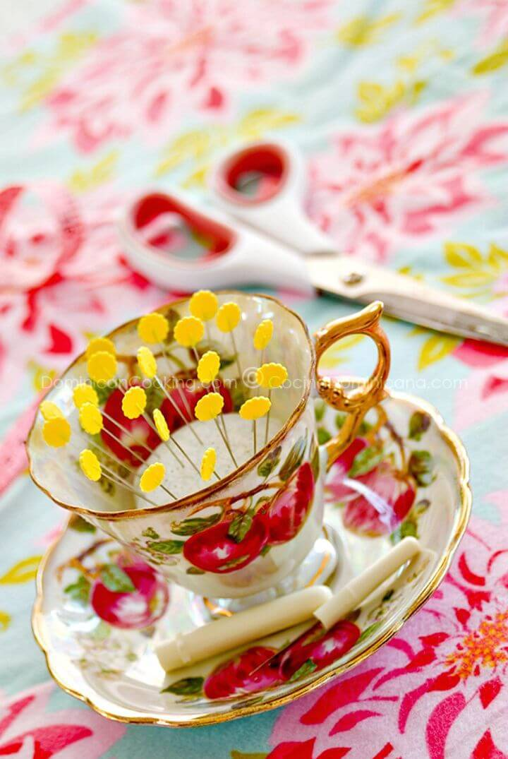 Cute DIY Like Teacup And Saucer - A Crafty Love Story