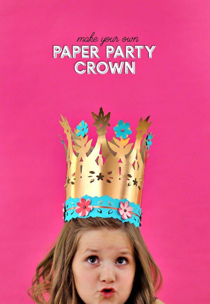 Cute DIY Paper Crowns