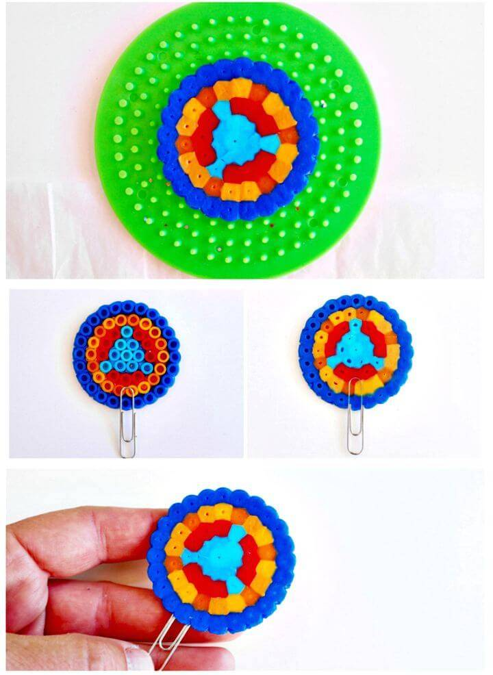 Cute DIY Perler Beads Mini Bookmarks