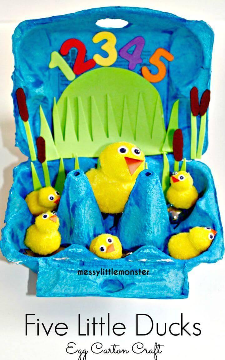 Cutest DIY Five Little Ducks Craft