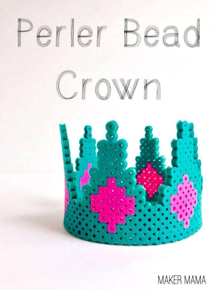 Hot to DIY A Perler Bead Crown