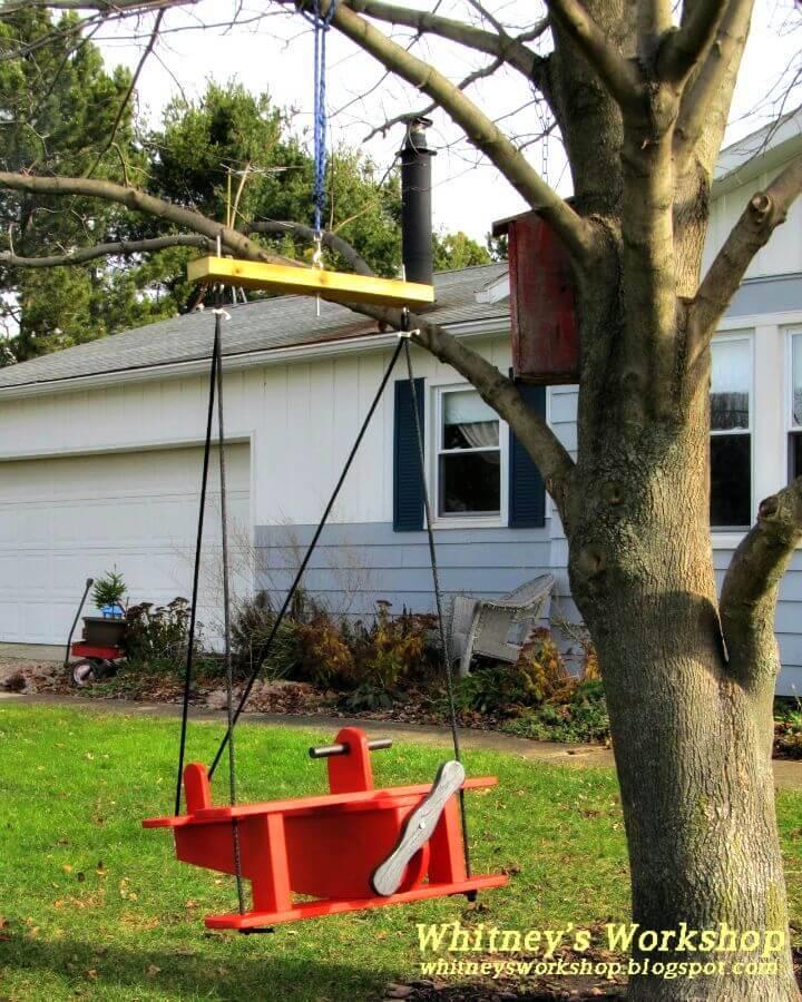 DIY Airplane Swing Tutorial
