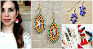 DIY Earrings – 101 DIY Earring Ideas To Try Your Hands At
